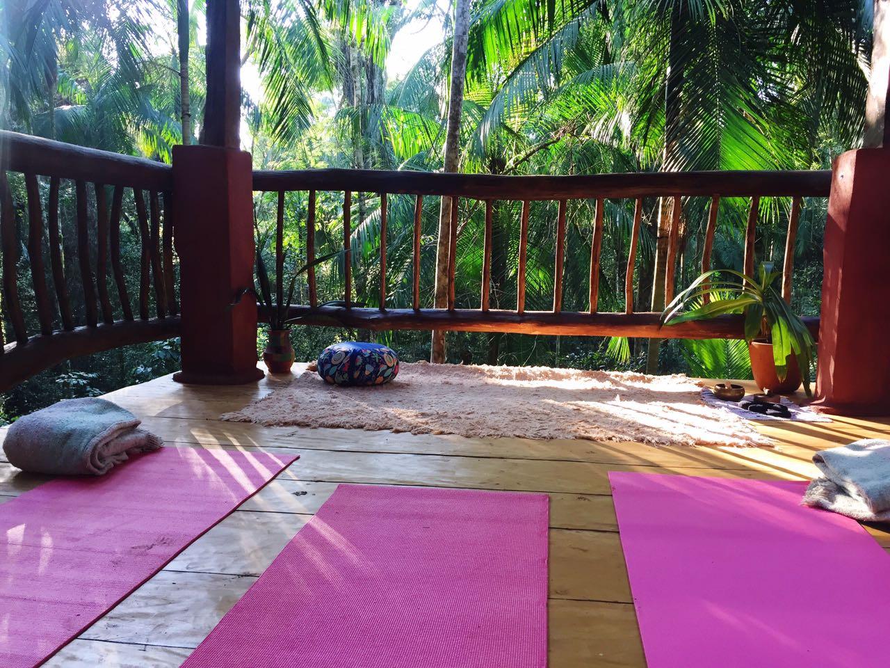 Meditation tower Yacutinga Lodge