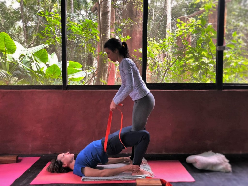 Yoga Room Yacutinga Lodge