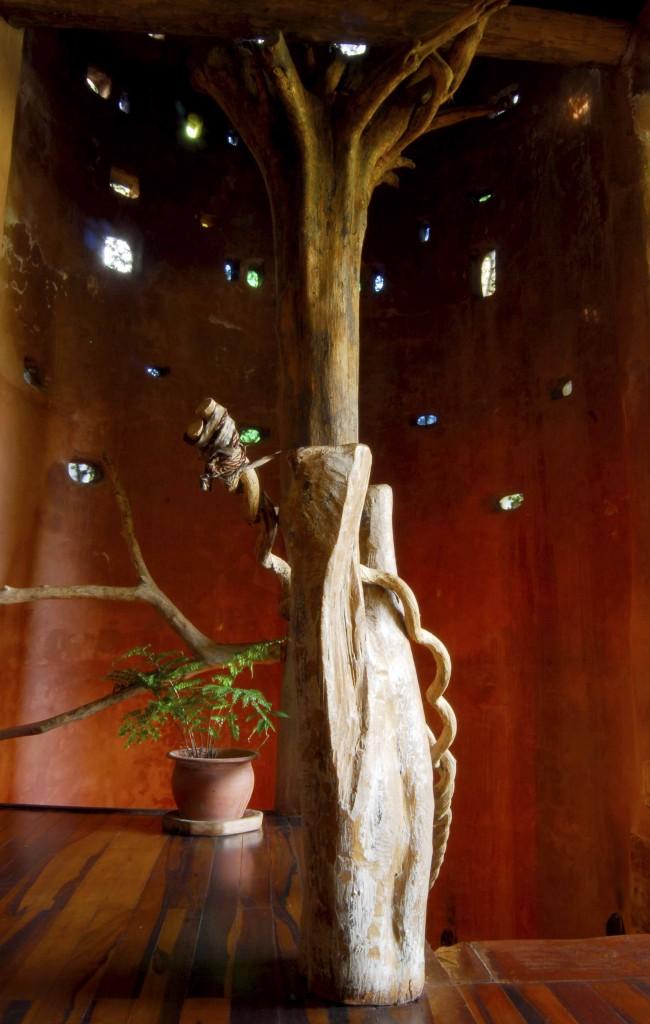Detalles de arquitectura orgánica
