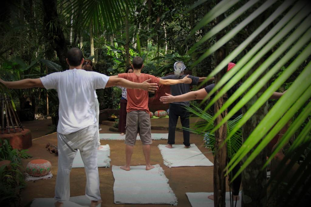 Yoga al atardecer - Yacutinga Lodge