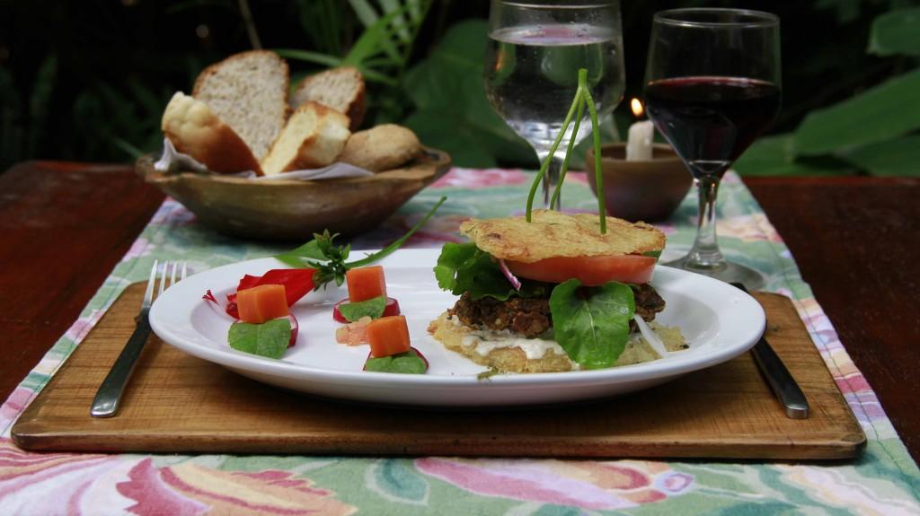 Alimentación saludable - Menúes veganos y vegetarianos. Yacutinga Lodge