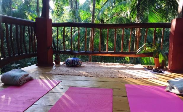 Torre de Meditación en Yacutinga Lodge